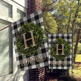 Personalized Flag, Welcome Garden Flags, Welcome House Flag, Farmhouse Garden Flags All Over Printed (6228)