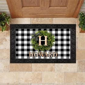 Personalized Doormat Welcome M2 All Over Printed (6228)