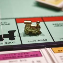 Racial Inequality and the Monopoly Board Game
