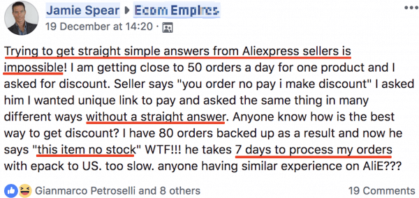 Aliexpress dropshipping issues 600x284 1