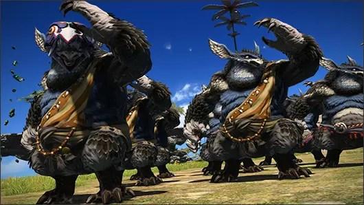 New Final Fantasy XIV Details Path 31s Vanu Vanu Beast