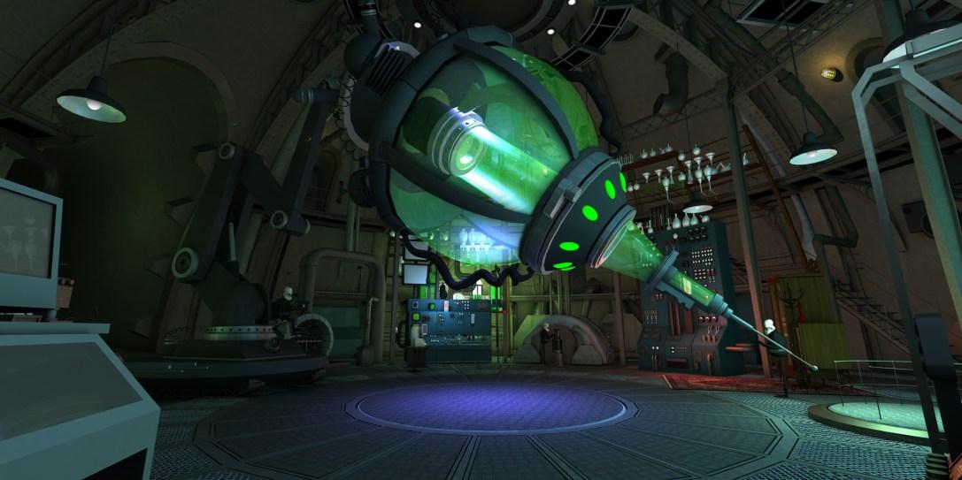 Interior Brine's Lab + Laser- Art Set