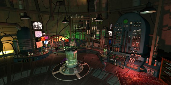 Interior Brine's Lab - Art Set