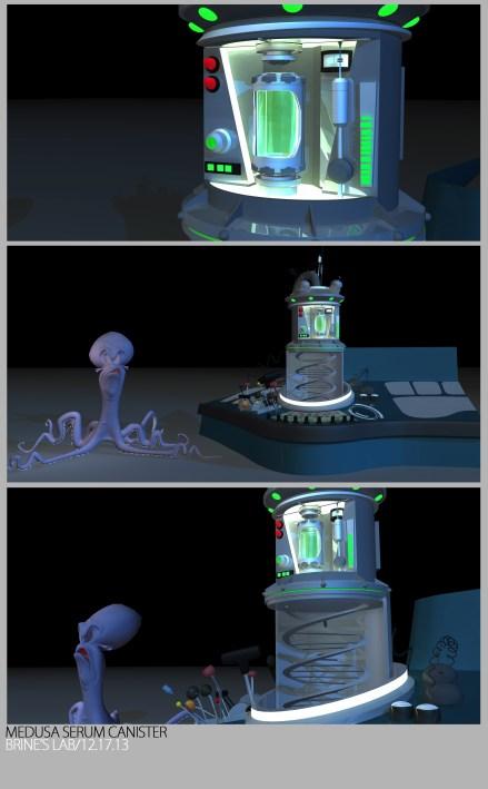 Medusa Serum Canister - Art Set