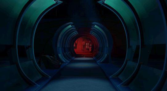 'Death Machine' Corridor - Final Film Shot