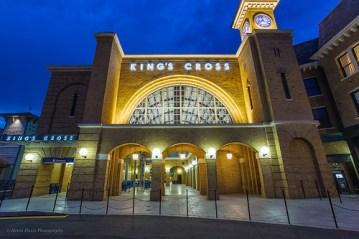KX theme park building exterior