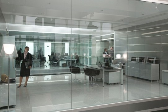 MI5 - M's office film set