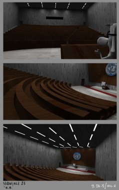 Peabody Intro - UN lecture hall interior