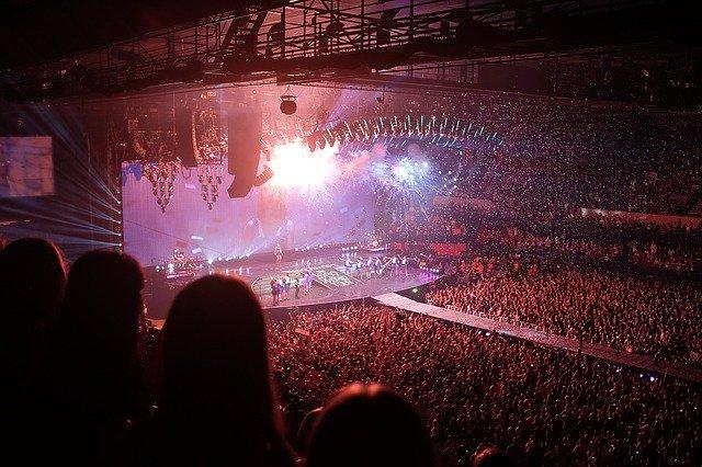 コンサートの写真