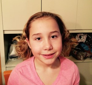 Ava's curls