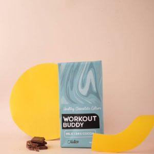 Nichoa Workout Buddy Chocolate Bar 90 gr