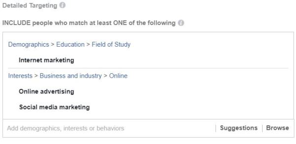 Facebook Targeting to Ideal Customer
