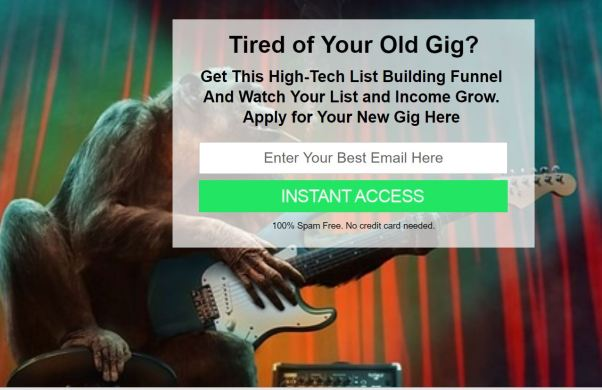 Dual Squeeze gig ad
