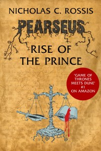 Pearseus, Rise of the Prince (book 2 in the series) book cover