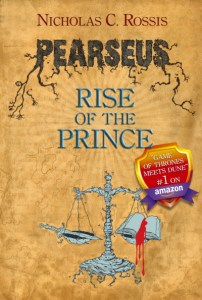 Pearseus, Rise of the Prince (Book 2 of the epic dark fantasy series Pearseus)