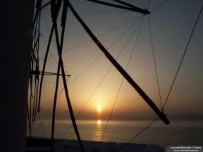 Windmill on the Island of Paros, Greece