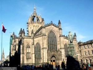 St. Giles' Cathedral, Edinburgh, Scotland, UK
