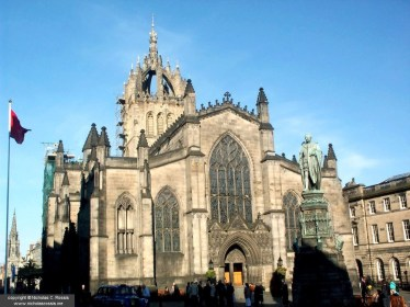 St. Giles' Cathedral, Edinburgh, Scotland, UK