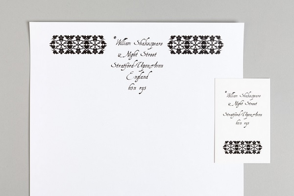 William Shakespeare stationery, by uk.moo.com