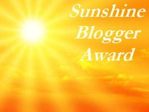 The sunshine award | From the blog of Nicholas C. Rossis, author of science fiction, the Pearseus epic fantasy series and children's books