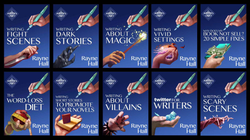 Rayne Hall's Writers' Craft | From the blog of Nicholas C. Rossis, author of science fiction, the Pearseus epic fantasy series and children's books