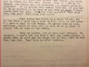 Letter sent by Mrs. Todd   From the blog of Nicholas C. Rossis, author of science fiction, the Pearseus epic fantasy series and children's books