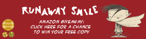 Runaway Smile Amazon Giveaway | From the blog of Nicholas C. Rossis, author of science fiction, the Pearseus epic fantasy series and children's books