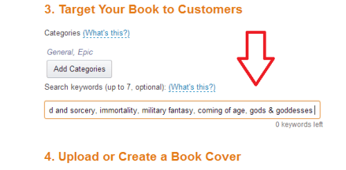 Amazon categories   From the blog of Nicholas C. Rossis, author of science fiction, the Pearseus epic fantasy series and children's books