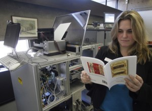 Espresso Book Machine   From the blog of Nicholas C. Rossis, author of science fiction, the Pearseus epic fantasy series and children's books