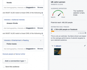 Mark Gillespie's Facebook Ads tips | From the blog of Nicholas C. Rossis, author of science fiction, the Pearseus epic fantasy series and children's books