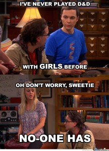 Big Bang theory - D&D   From the blog of Nicholas C. Rossis, author of science fiction, the Pearseus epic fantasy series and children's books
