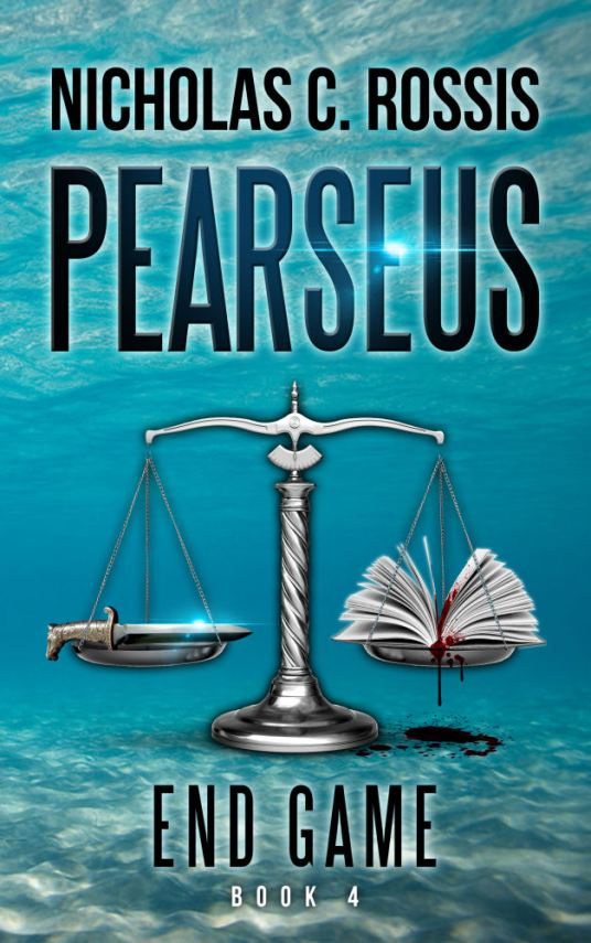 Pearseus: Endgame draft book cover - sea | From the blog of Nicholas C. Rossis, author of science fiction, the Pearseus epic fantasy series and children's books