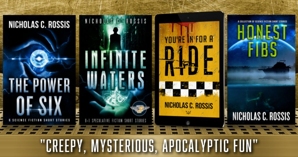 The ultimate short science fiction/speculative fiction stories collection | From the blog of Nicholas C. Rossis, author of science fiction, the Pearseus epic fantasy series and children's books