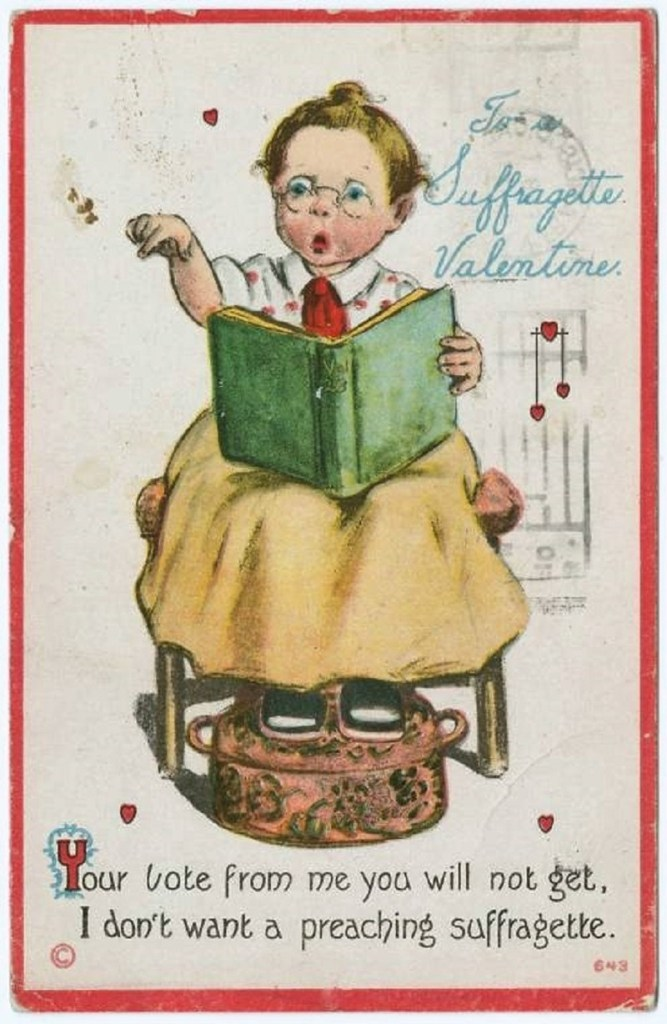 Valentine to a Suffragette | From the blog of Nicholas C. Rossis, author of science fiction, the Pearseus epic fantasy series and children's books