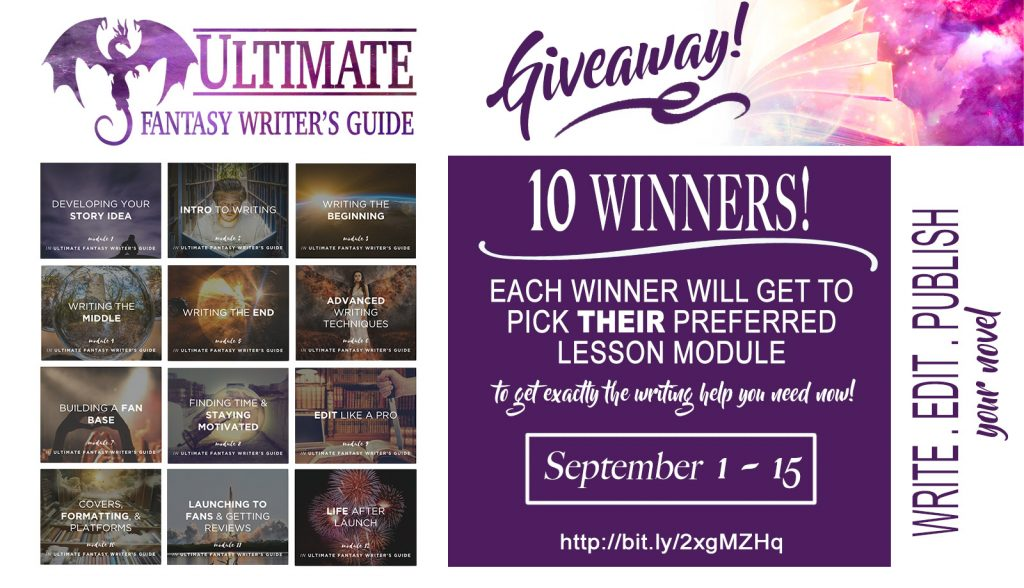 Autumn Birt's writing course giveaway | From the blog of Nicholas C. Rossis, author of science fiction, the Pearseus epic fantasy series and children's books