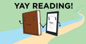 Yay reading: Print vs ebook | From the blog of Nicholas C. Rossis, author of science fiction, the Pearseus epic fantasy series and children's books
