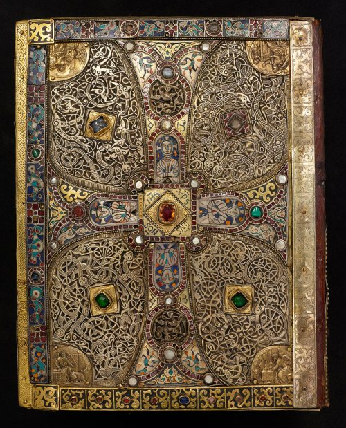Lindau Gospels | From the blog of Nicholas C. Rossis, author of science fiction, the Pearseus epic fantasy series and children's book