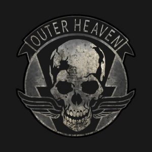 Outer Heaven Logo | From the blog of Nicholas C. Rossis, author of science fiction, the Pearseus epic fantasy series and children's books