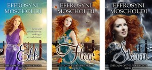 Lady of the Pier trilogy by Effrosyni Moschoudi | From the blog of Nicholas C. Rossis, author of science fiction, the Pearseus epic fantasy series and children's book