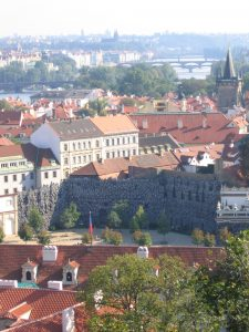 Prague, Wallenstein Palace | From the blog of Nicholas C. Rossis, author of science fiction, the Pearseus epic fantasy series and children's books