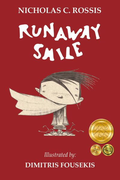 Runaway Smile cover | From the blog of Nicholas C. Rossis, author of science fiction, the Pearseus epic fantasy series and children's books
