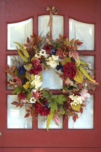 May 1st Flower wreath | From the blog of Nicholas C. Rossis, author of science fiction, the Pearseus epic fantasy series and children's books
