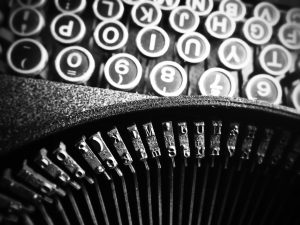 Typewriter | From the blog of Nicholas C. Rossis, author of science fiction, the Pearseus epic fantasy series and children's book