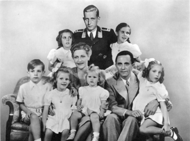 Goebbels and his family | From the blog of Nicholas C. Rossis, author of science fiction, the Pearseus epic fantasy series and children's book