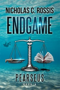 Pearseus: Endgame book cover | From the blog of Nicholas C. Rossis, author of science fiction, the Pearseus epic fantasy series and children's books