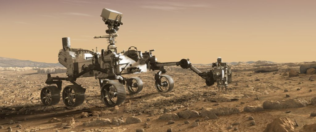 Perseverance Mars rover | From the blog of Nicholas C. Rossis, author of science fiction, the Pearseus epic fantasy series and children's books