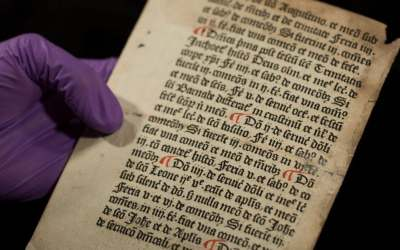 Found: One of the First Books Ever Printed in England