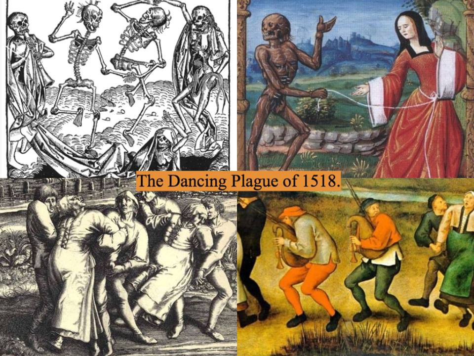 The dancing plague of 1518 | From the blog of Nicholas C. Rossis, author of science fiction, the Pearseus epic fantasy series and children's book