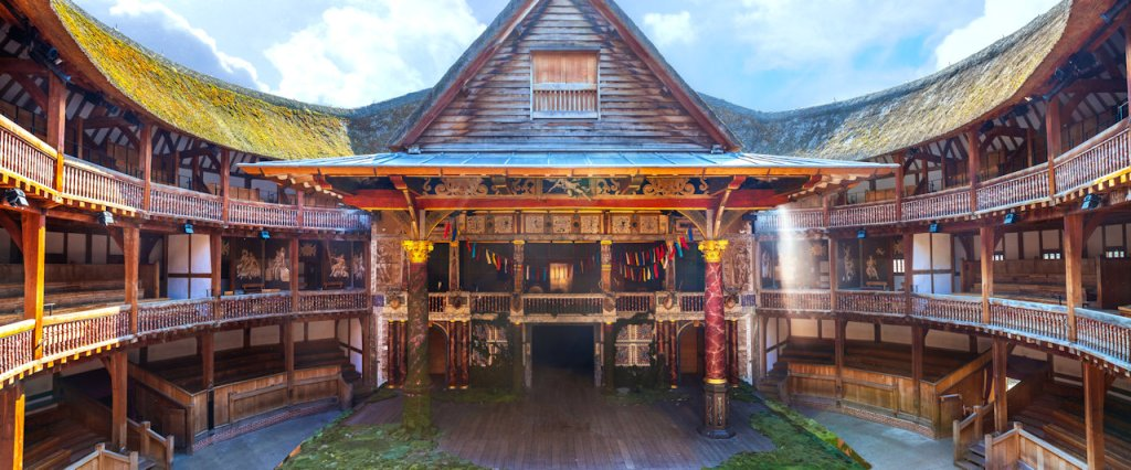 Shakespeare Globe Theater | From the blog of Nicholas C. Rossis, author of science fiction, the Pearseus epic fantasy series and children's books