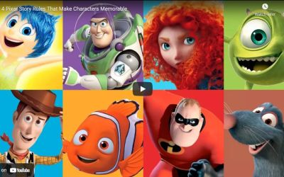 Create Memorable Characters the Pixar Way